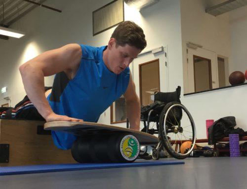 Sponsor Floris on his way to the 2022 Beijing Paralympics!